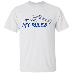 My Boat My Rules – T-Shirt