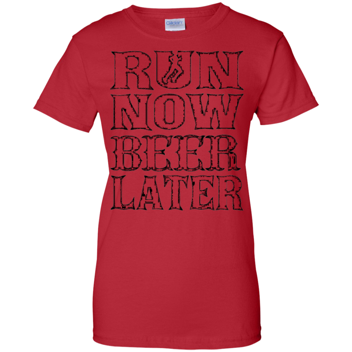 Run now Beer later T-Shirt