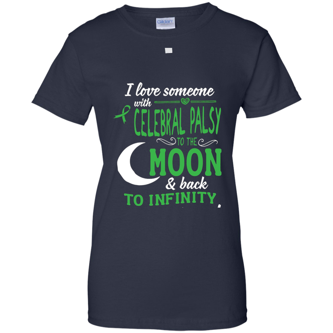 I Love Someone With Cerebral Palsy T-Shirt