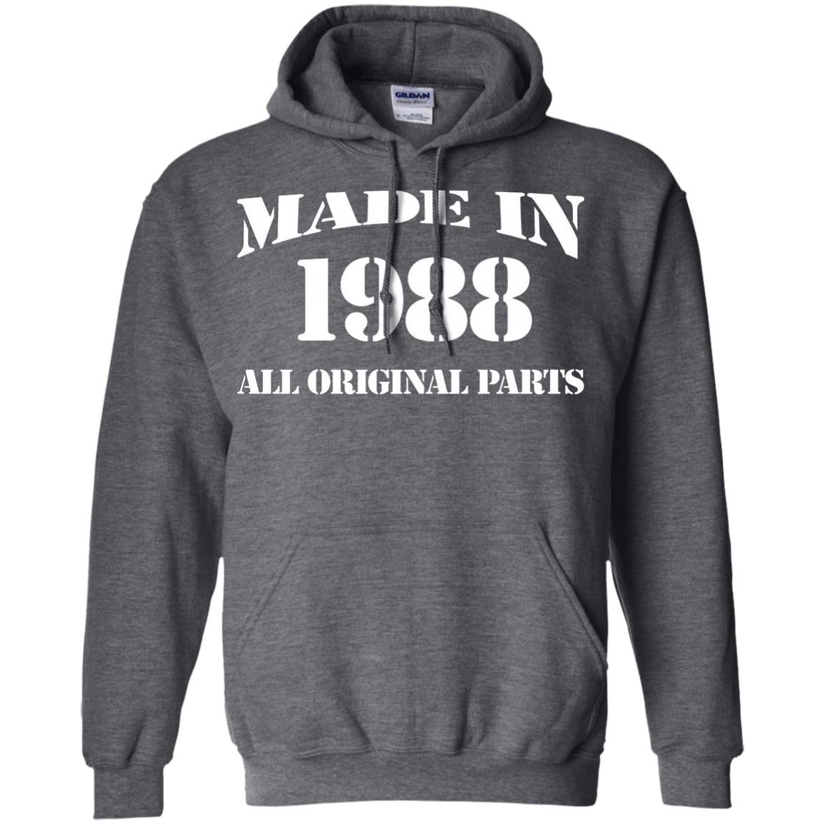 28th Birthday Gift Made In 1988 All Original Parts T-Shirt