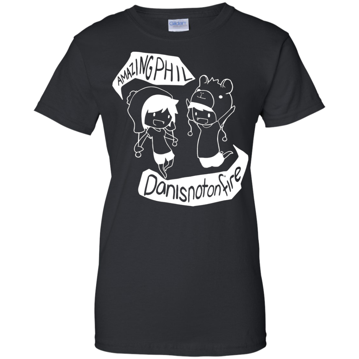 amazing Phil and Dan is not on fire T Shirt