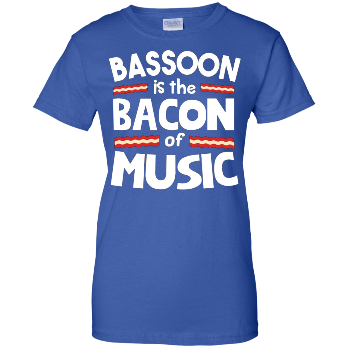 Bassoon is the Bacon of Music Funny T-Shirt