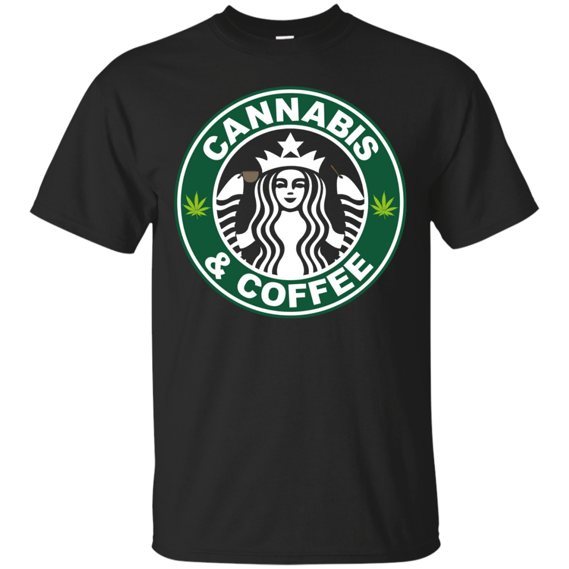 Cannabis and Coffee shirt - Cannabis Coffee