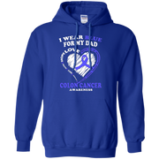 Colon Cancer T Shirt – I Wear Blue For My Dad T-Shirt