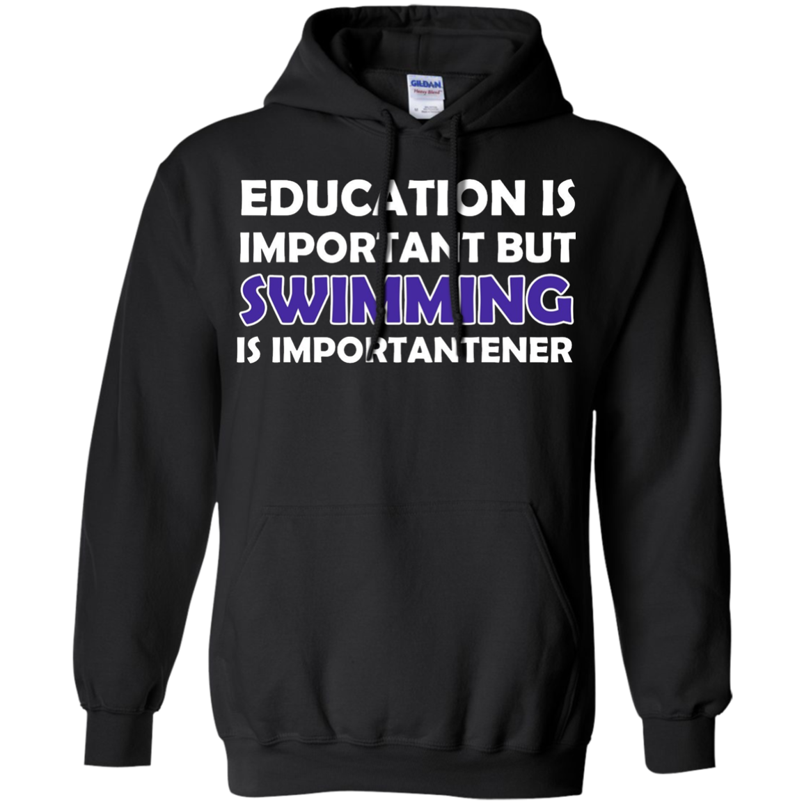 Education Is Important But Swimming Is Importanter