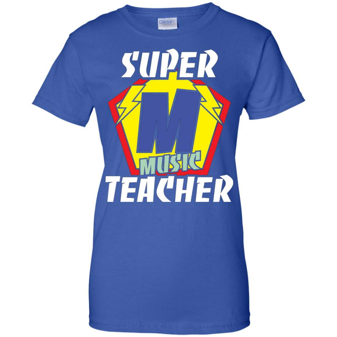 Funny Teacher Shirts Super Music Teacher