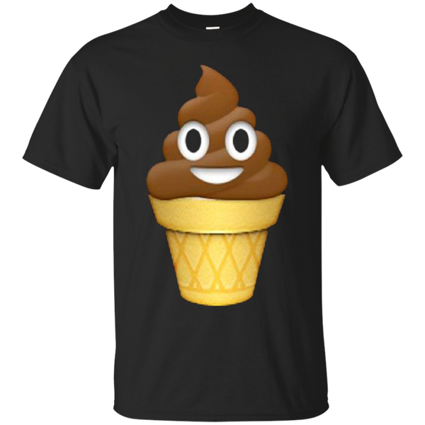 Ice Cream Emoji T Shirt Poop Emoticon Chocolate Zzz Tee