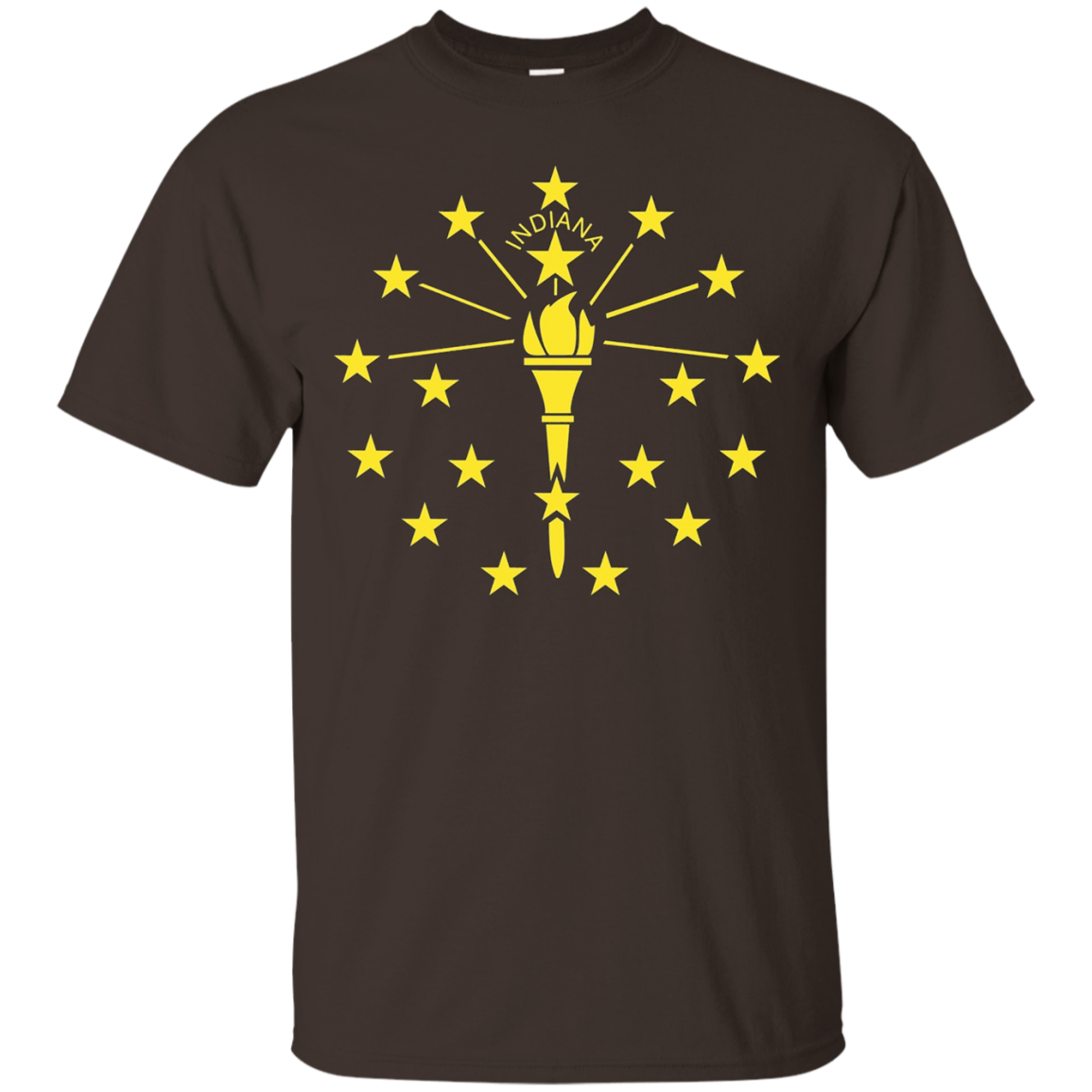 Indiana IN state Flag USA T Shirt