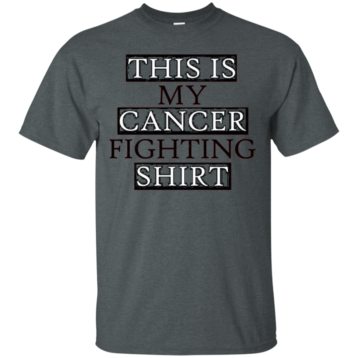 Inspirational This Is My Cancer Fighting T-Shirt