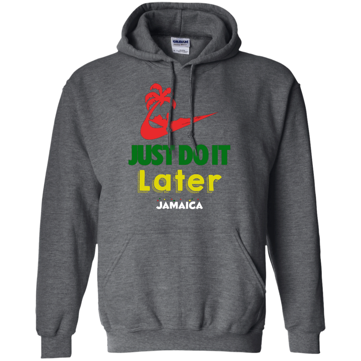 Just Do It Later Jamaican Vacation T-Shirt