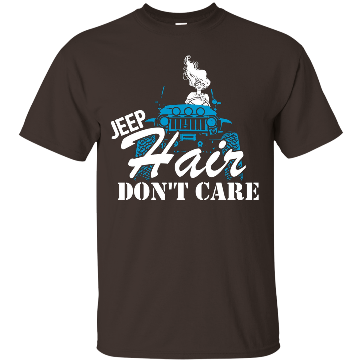 Limited Edition Jeep Hair Don't Care - Personalized Tees