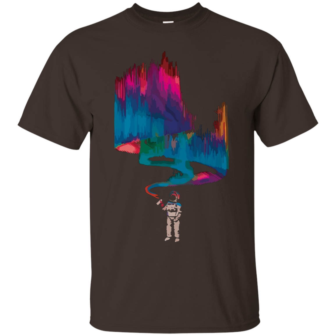 Paint the Cosmos Rave T-Shirt by Crashirts