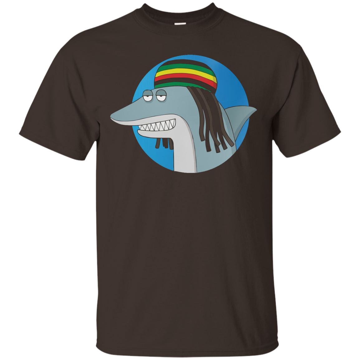 Reggae Shark - The Key of Awesome T-Shirt - Unisex Shirt