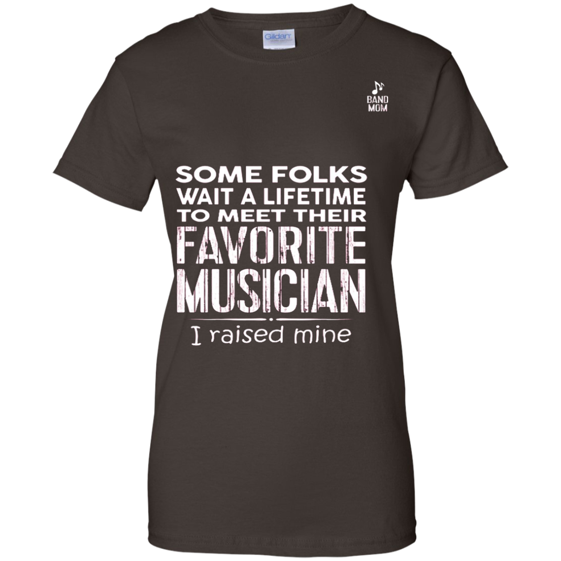 Band Mom shirt - I raised mine