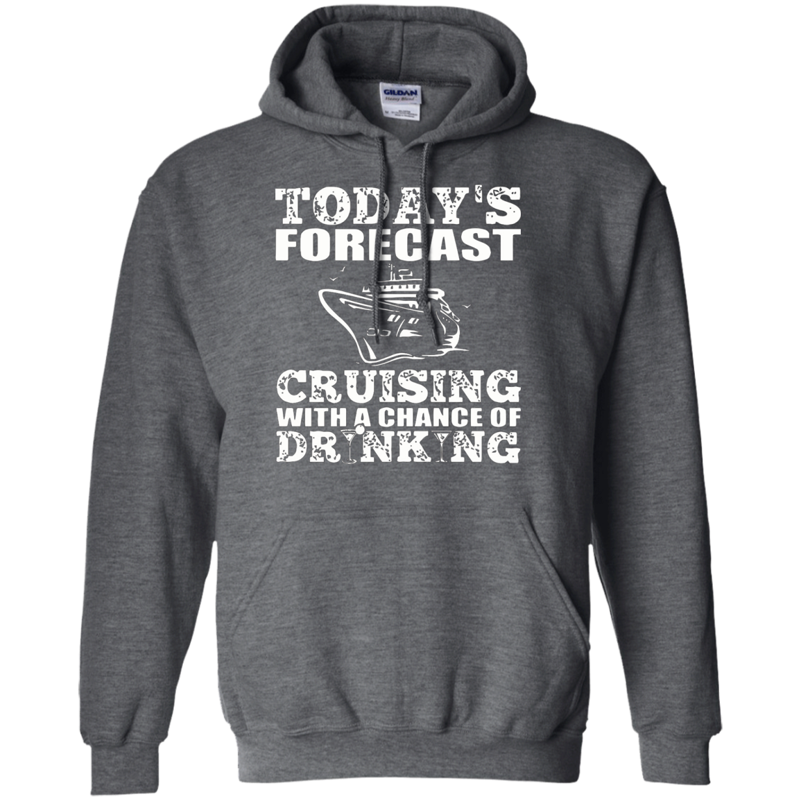 Cruising Shirt - Forecast Cruising With Chance Drinking