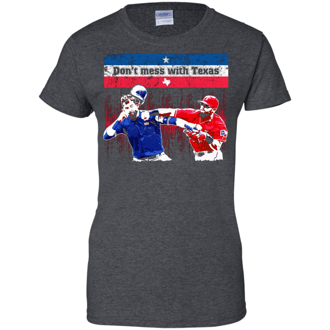 Don't mess with Texas great funny baseball punch t-shirt