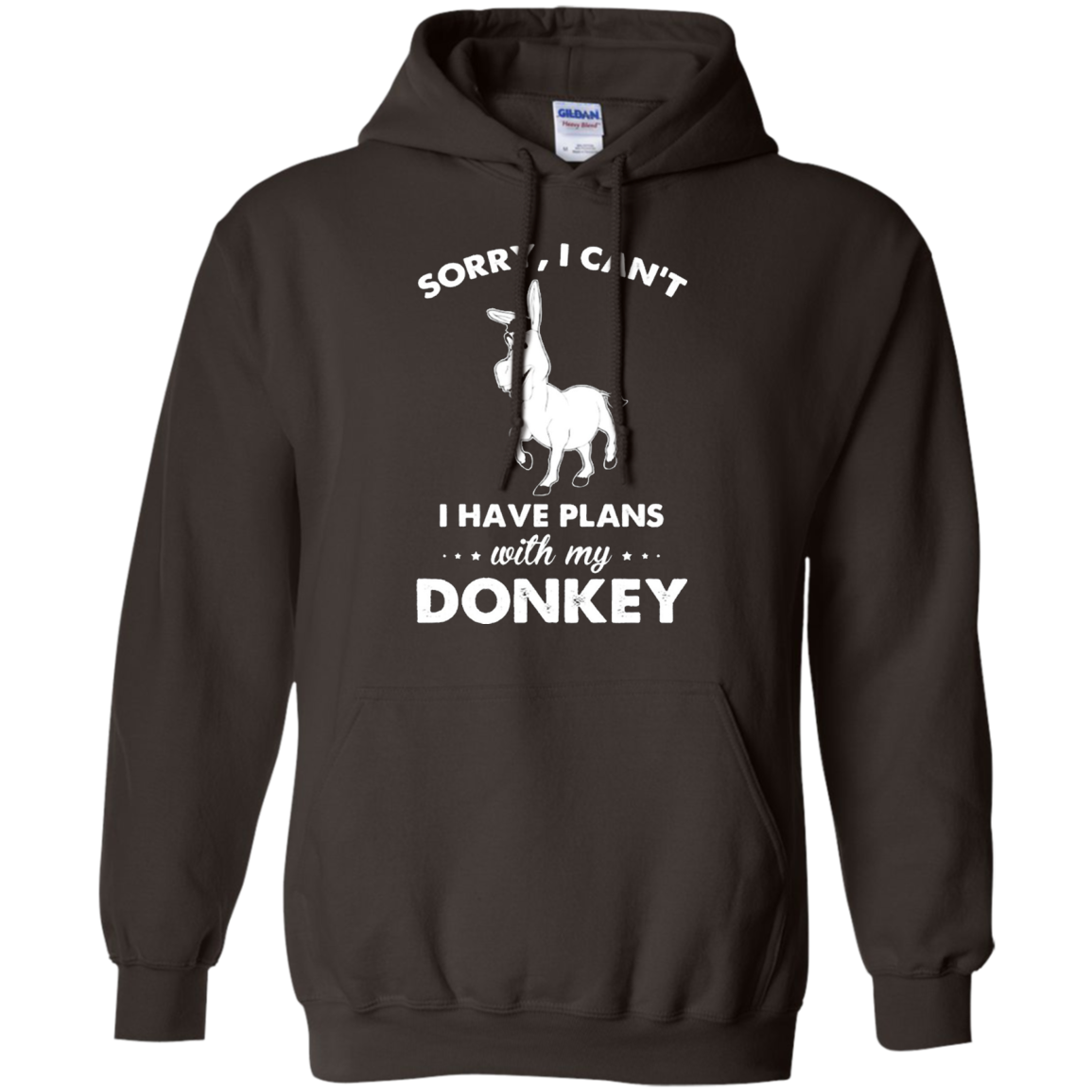 Donkey Shirt - I Have Plans With My Donkey Shirt
