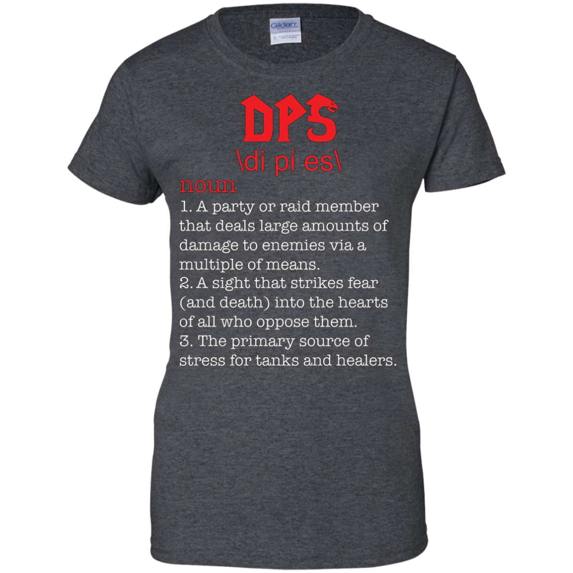 DPS Shirt Funny WoW T-shirt DPS Tee