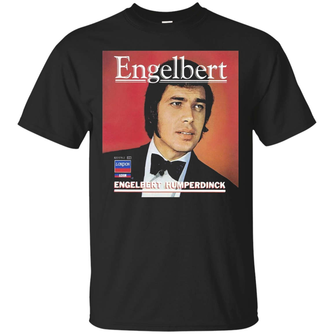 Engelbert Humperdinck Vintage LP Album Cover Tee Shirt