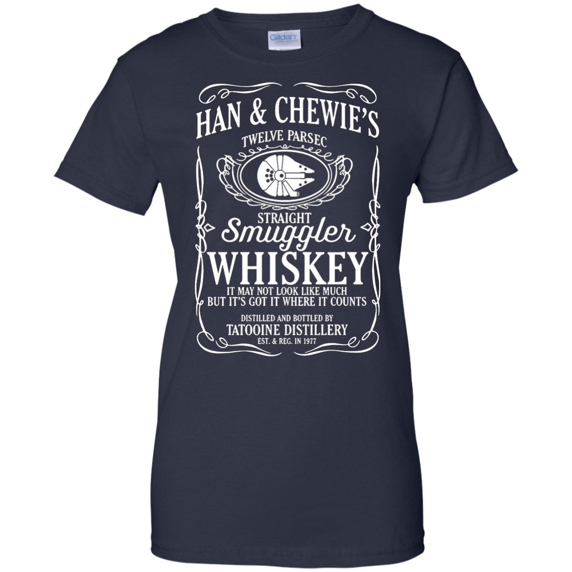 Han & Chewie's Twelve Parsec Straight Smuggler Whiskey