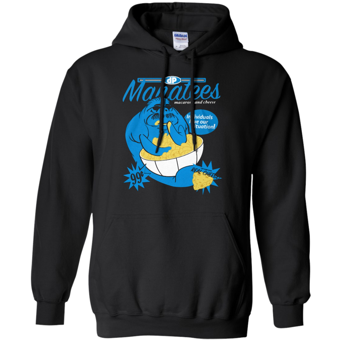 Manatees Macaroni and Cheese T-SHIRT