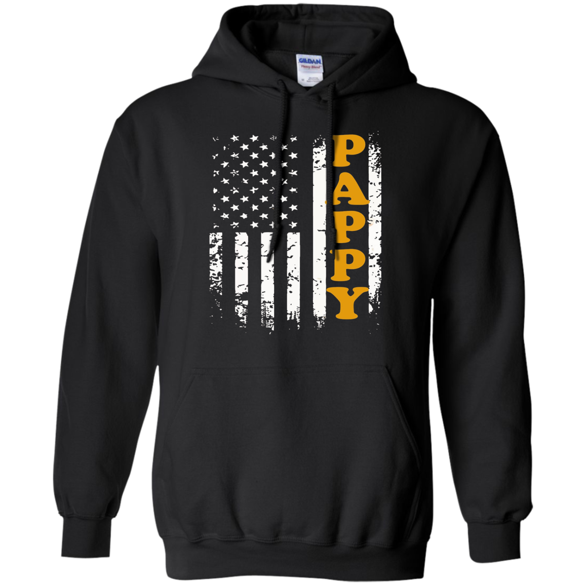 Men's PAPPY & America Flag T-Shirts Special Gifts For Grandpas