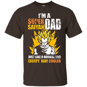 Men's Super Saiyan Dad T-Shirt Funny Father's Day Gift DBZ Lovers T-Shirt