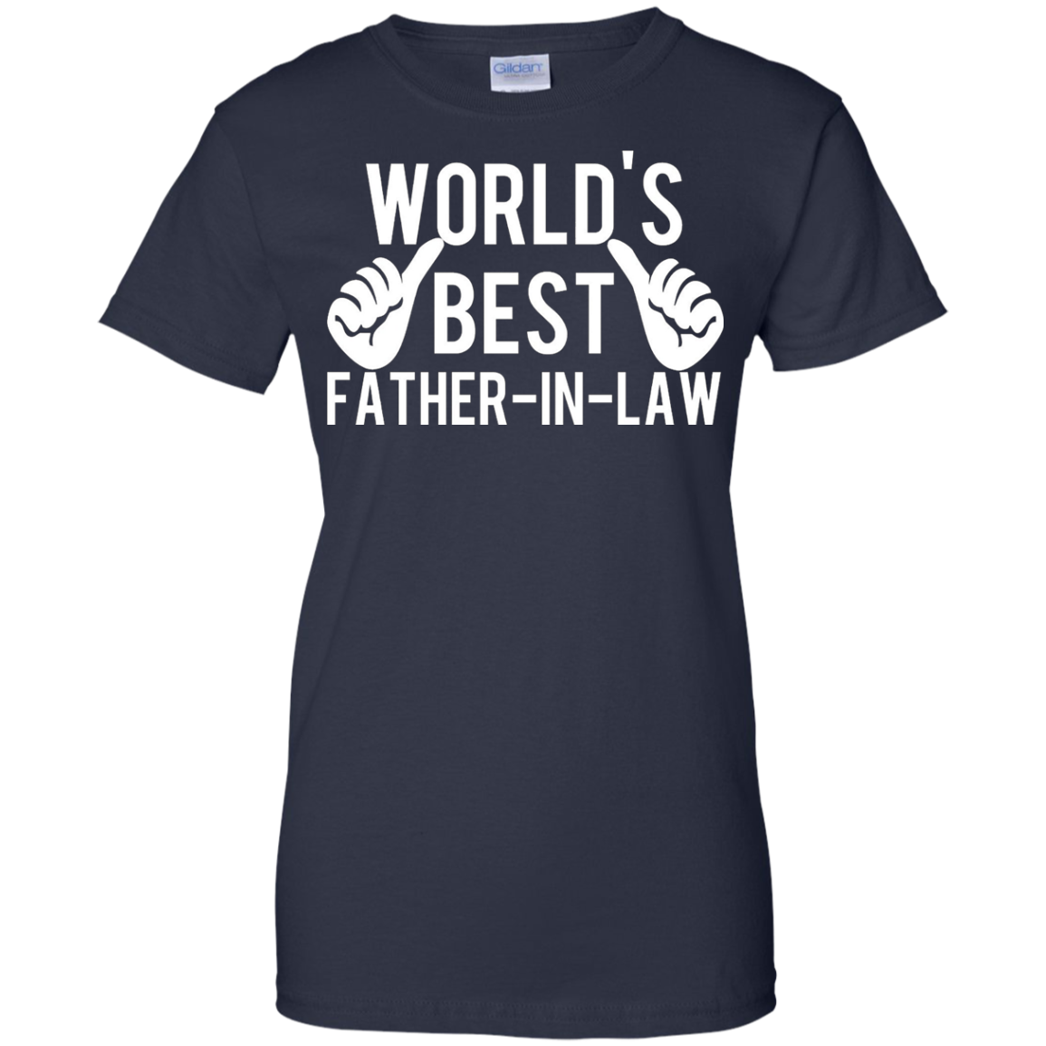 Men's World's Best Father in Law T shirt - Great gift idea