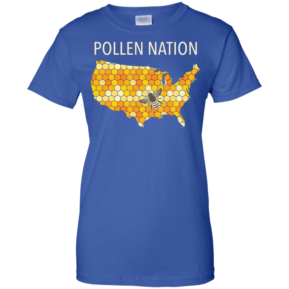 Pollen Nation Shirt for Beekeepers and Lovers of Honey Bees