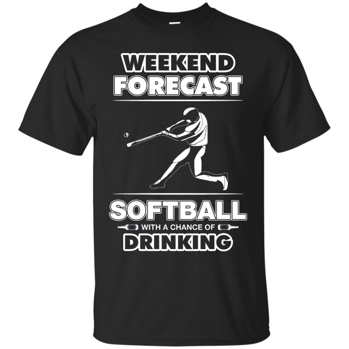Softball team shirts - Weekend Forecast - Softball