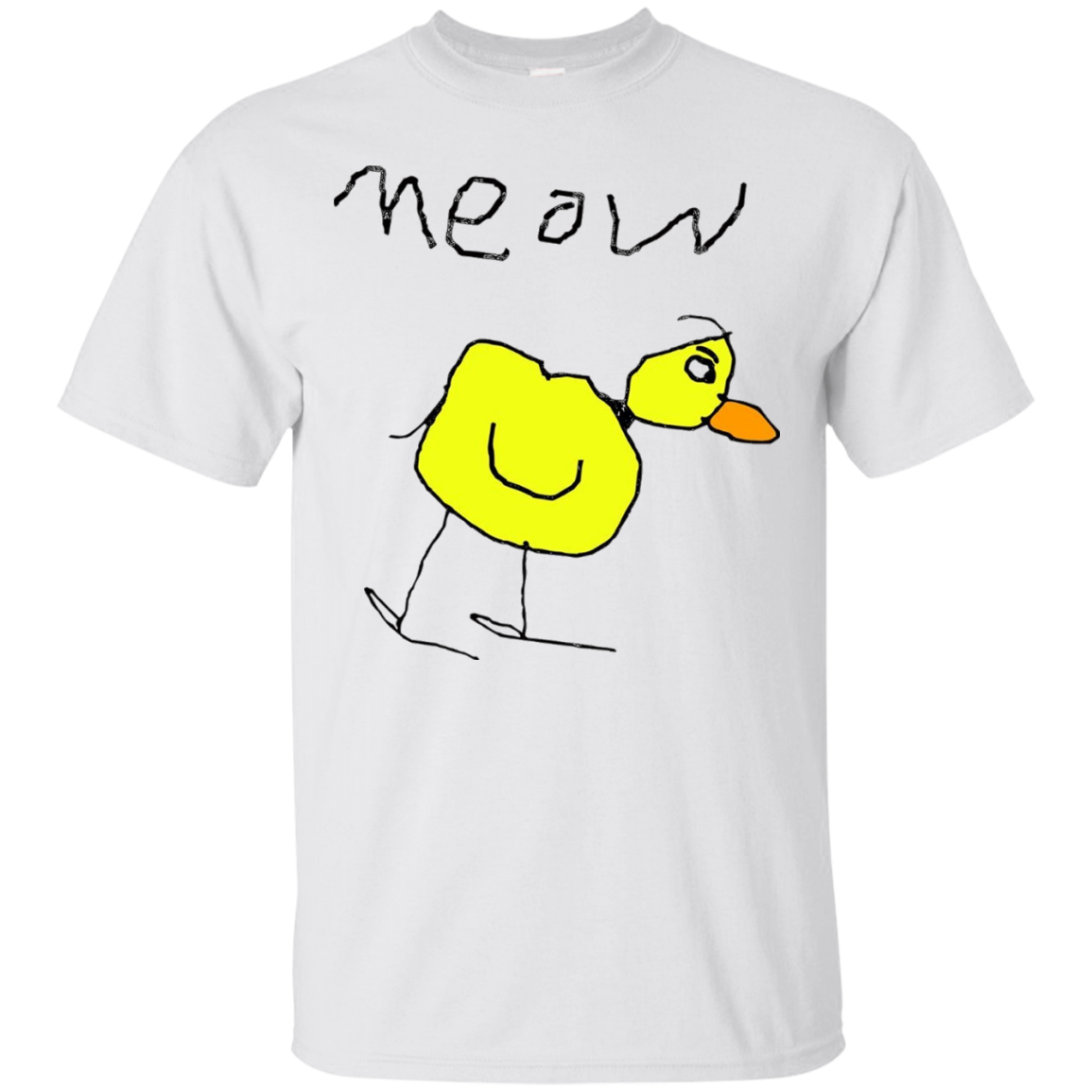 Meow The Duck tshirt meow the duck shirt T-Shirt