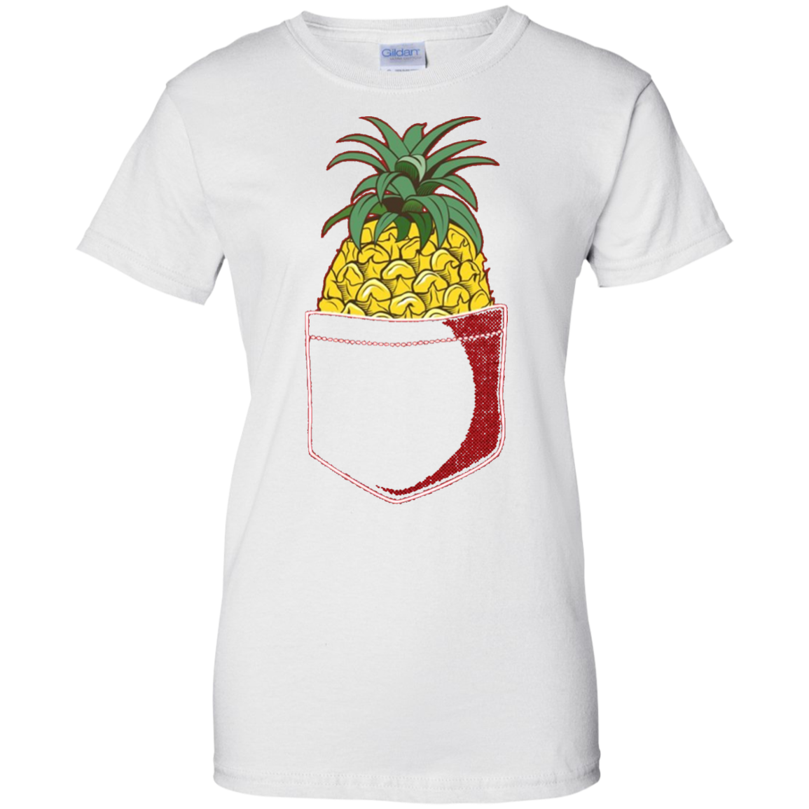 Pocket Pineapple T-Shirt