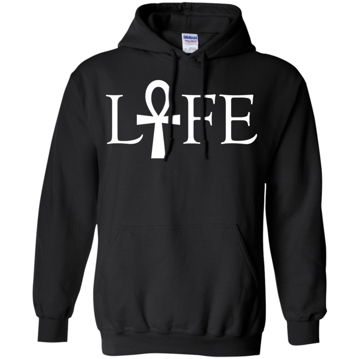 Ankh Life T-Shirt Ancient Symbol of Life Cross With Handle