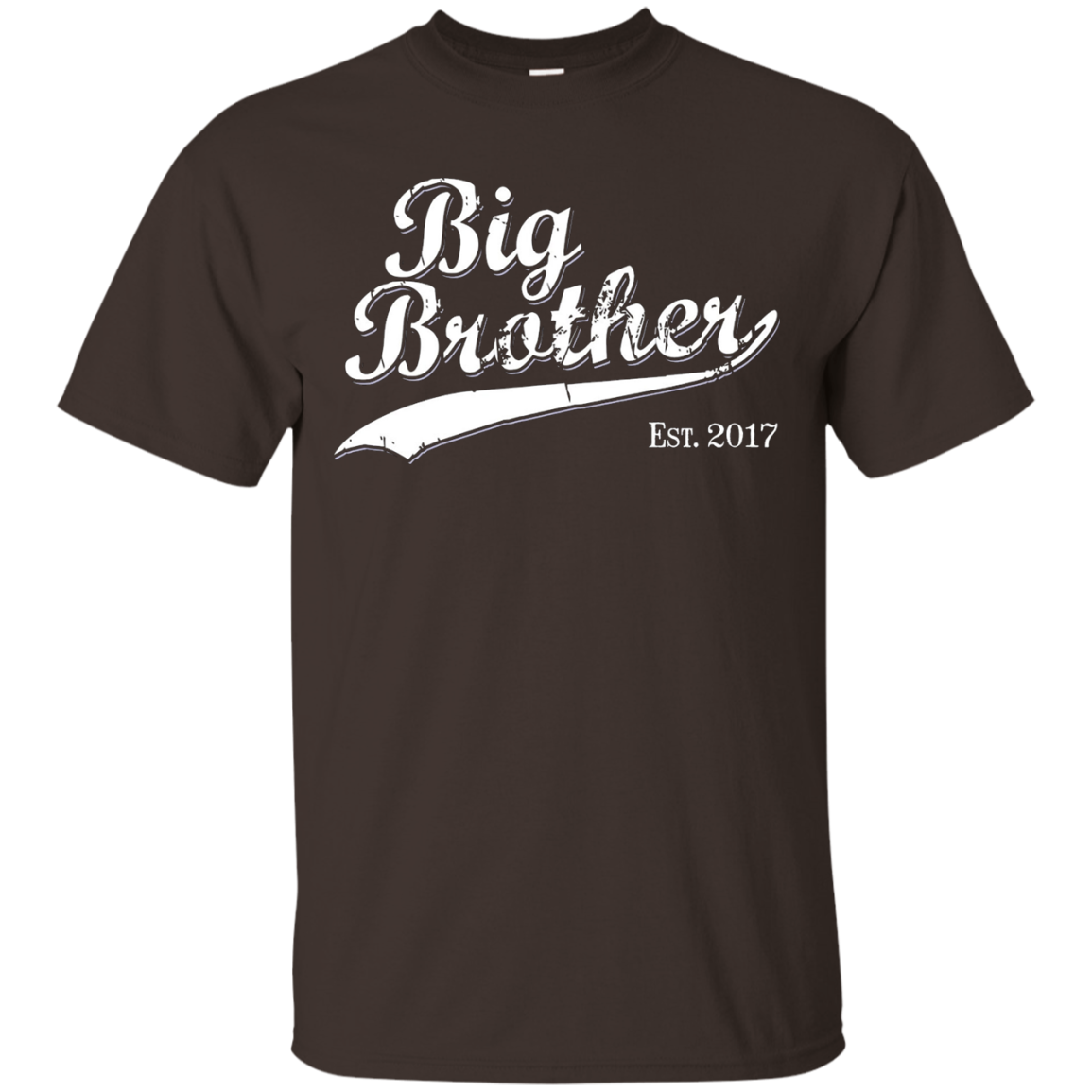 Big Brother Est 2017 Gift T-shirt for New Brother Tshirt
