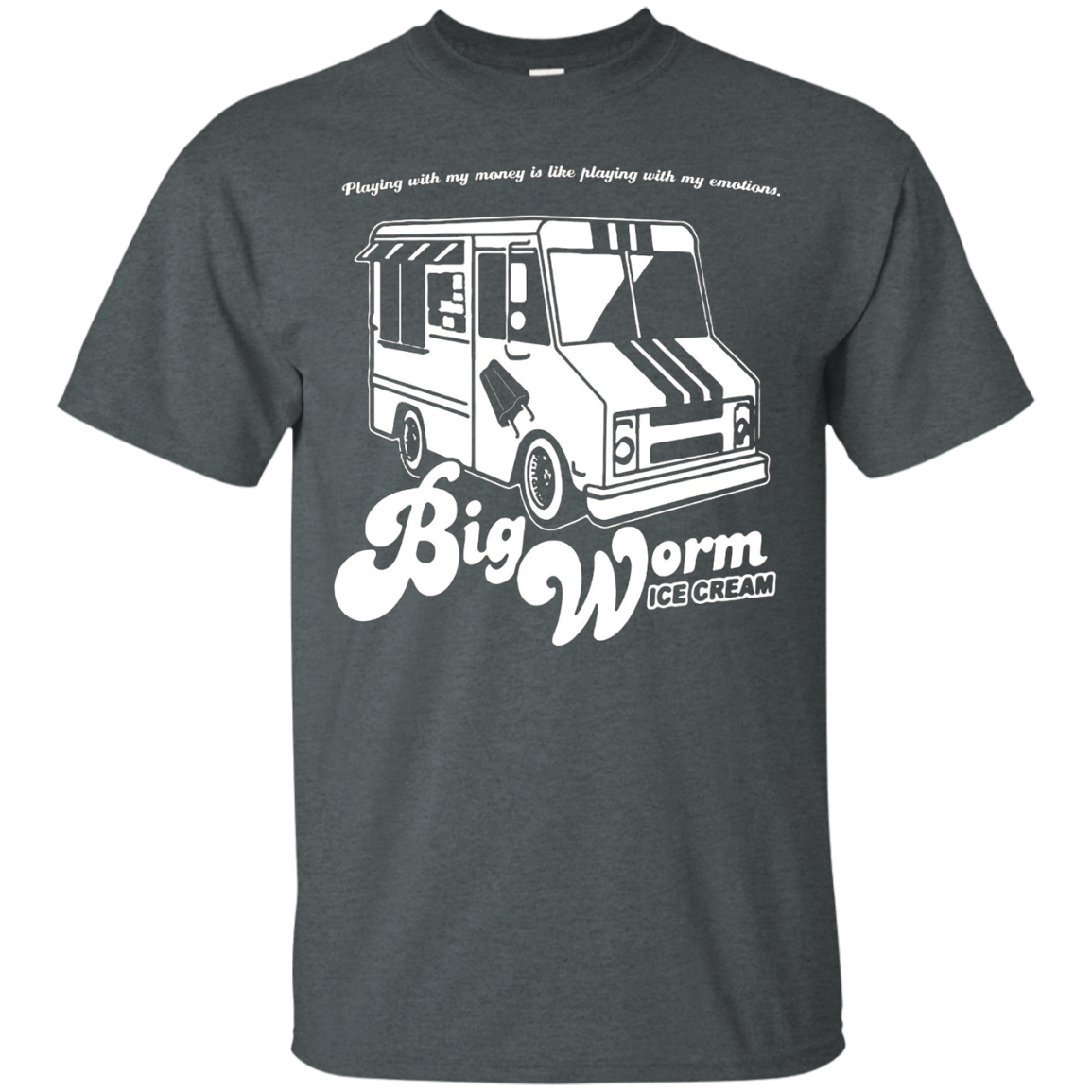 Big Worm T-Shirt - Ice Cream Truck Shirt