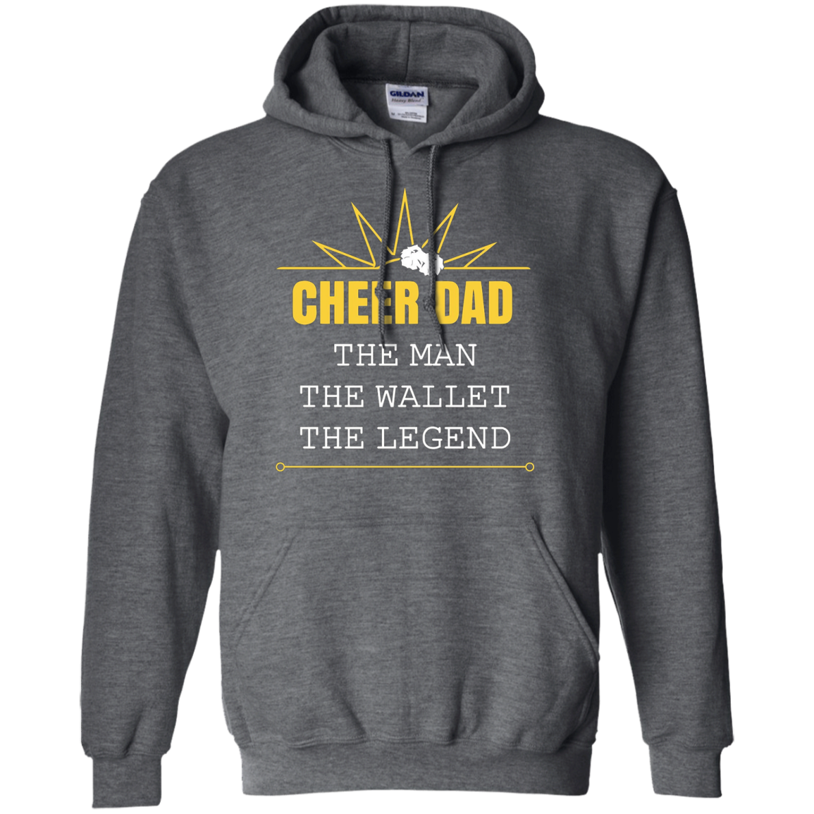 Cheer Dad, the man, legend, wallet - Funny Dad Shirt