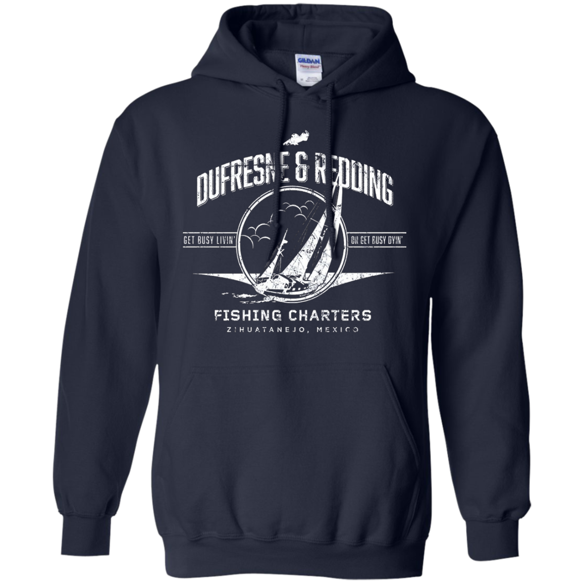 Dufresne & Redding Fishing Charters T Shirt