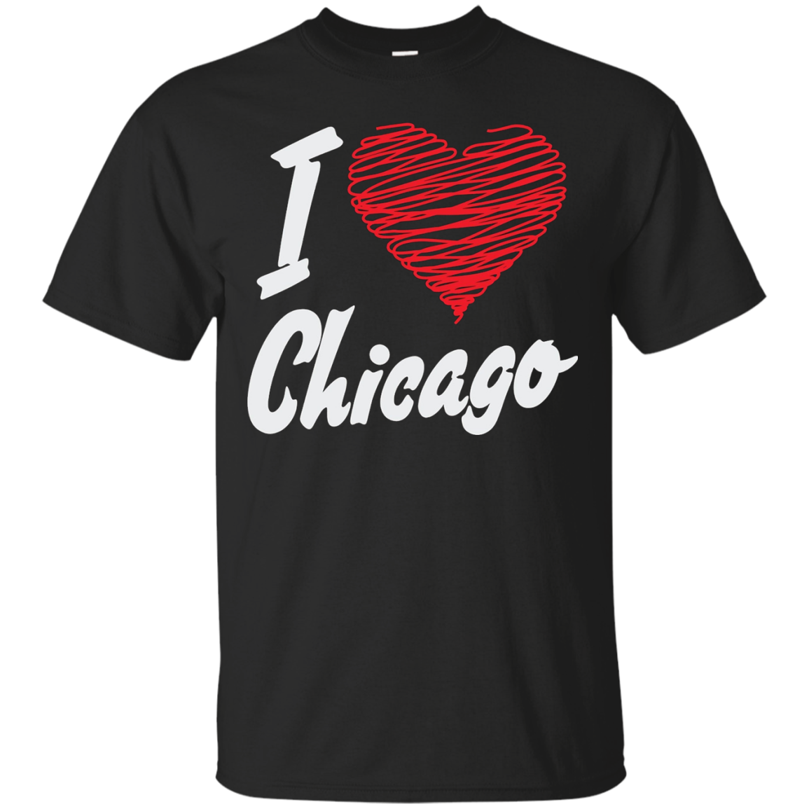 I love chicago USA Tshirt