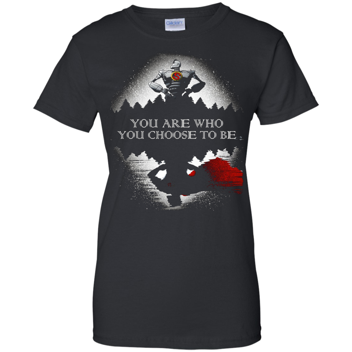 Iron Giant Shirt - You Are Who You Choose To Be
