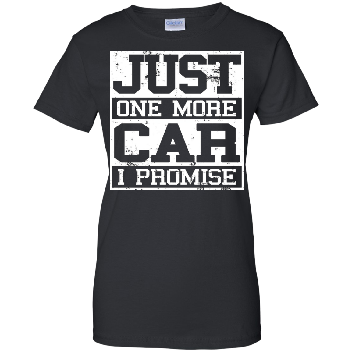 Just One More Car I Promise T-Shirt Gift Tee For Car Lovers