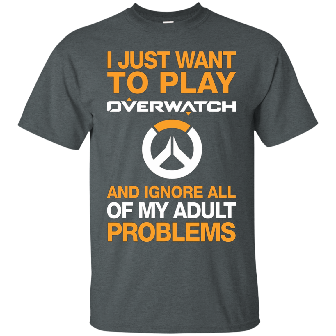 JUST WANT TO PLAY OVERWATCH and IGNORE ALL MY ADULT PROBLEM