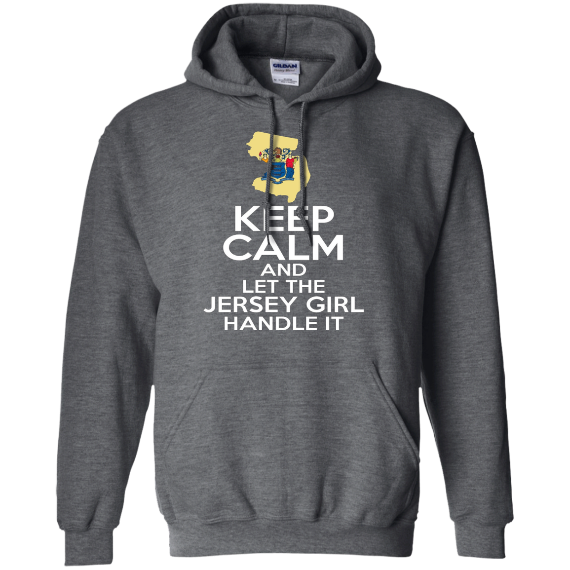 Keep Calm And Let The Jersey Girl Handle It T-shirt