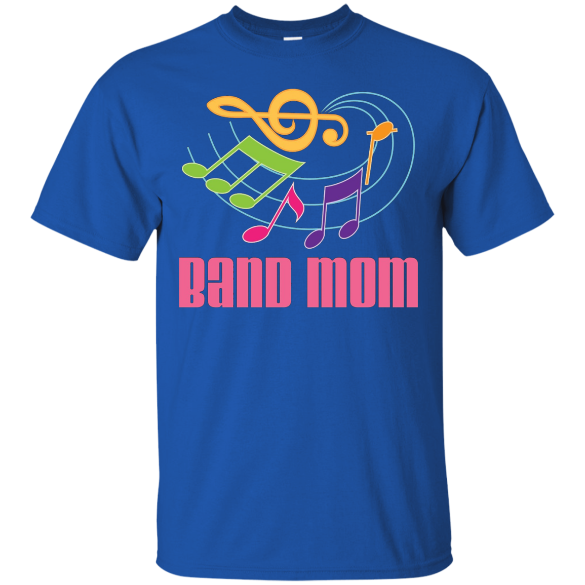 Marching Band Mom T-shirt Womens Music Ladies Gift