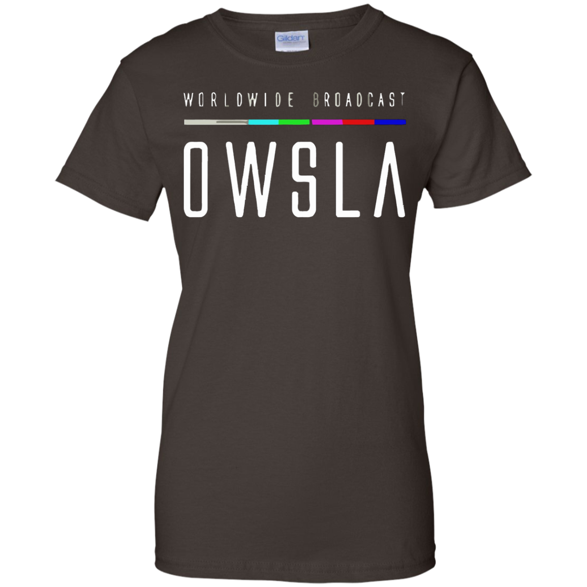 Men's OWSLA World Wide Broadcast Various Artists T-shirt