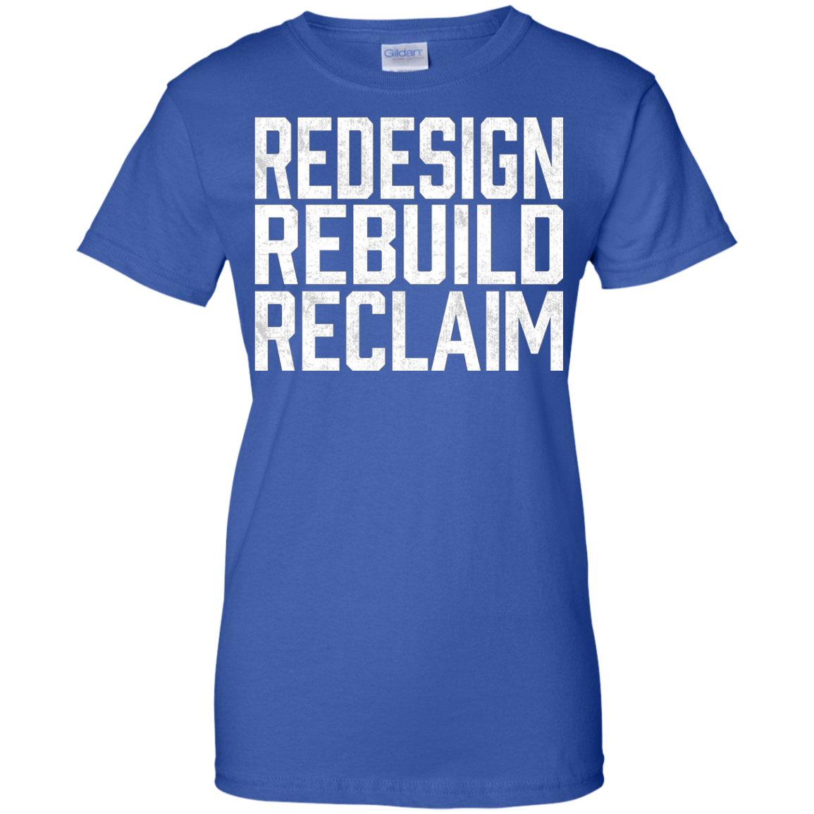 Redesign, Rebuild, Reclaim T-Shirt Rollins Recovery Returns