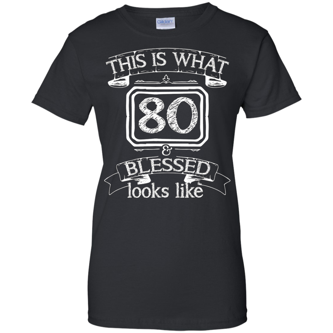 Born In 1936 - 80th Birthday Gift Tshirt