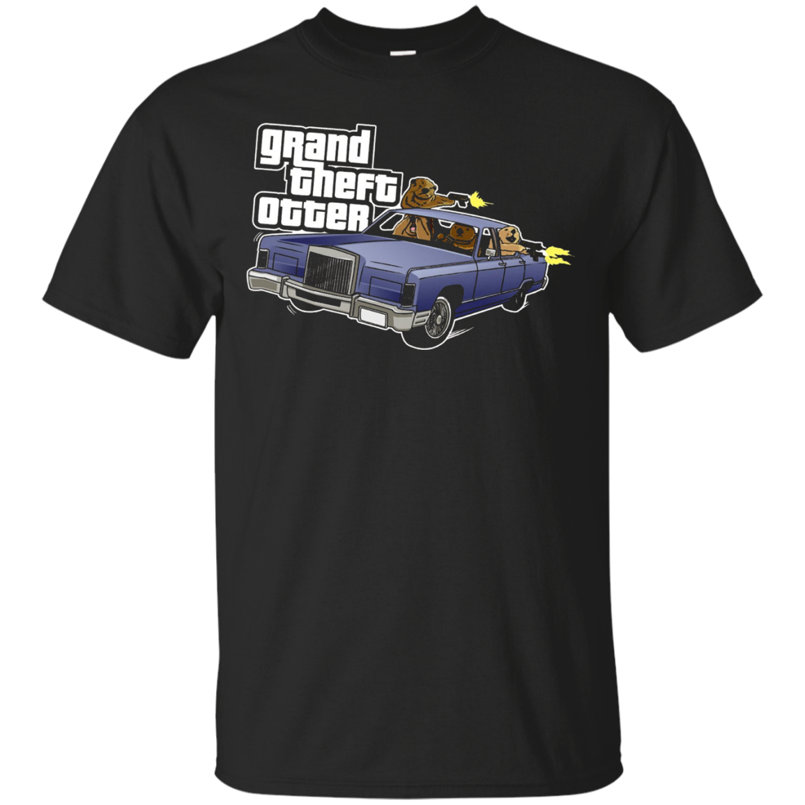 Grand Theft Otter T Shirt