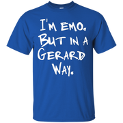 I'm Emo But in a Gerard Way T-Shirt