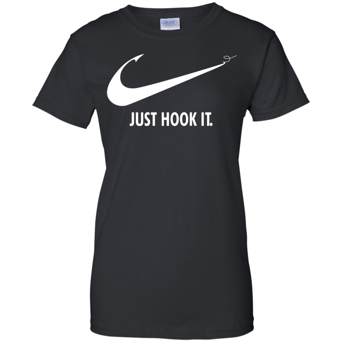 Just Hook It Fishing T-Shirt Angler Love Tee