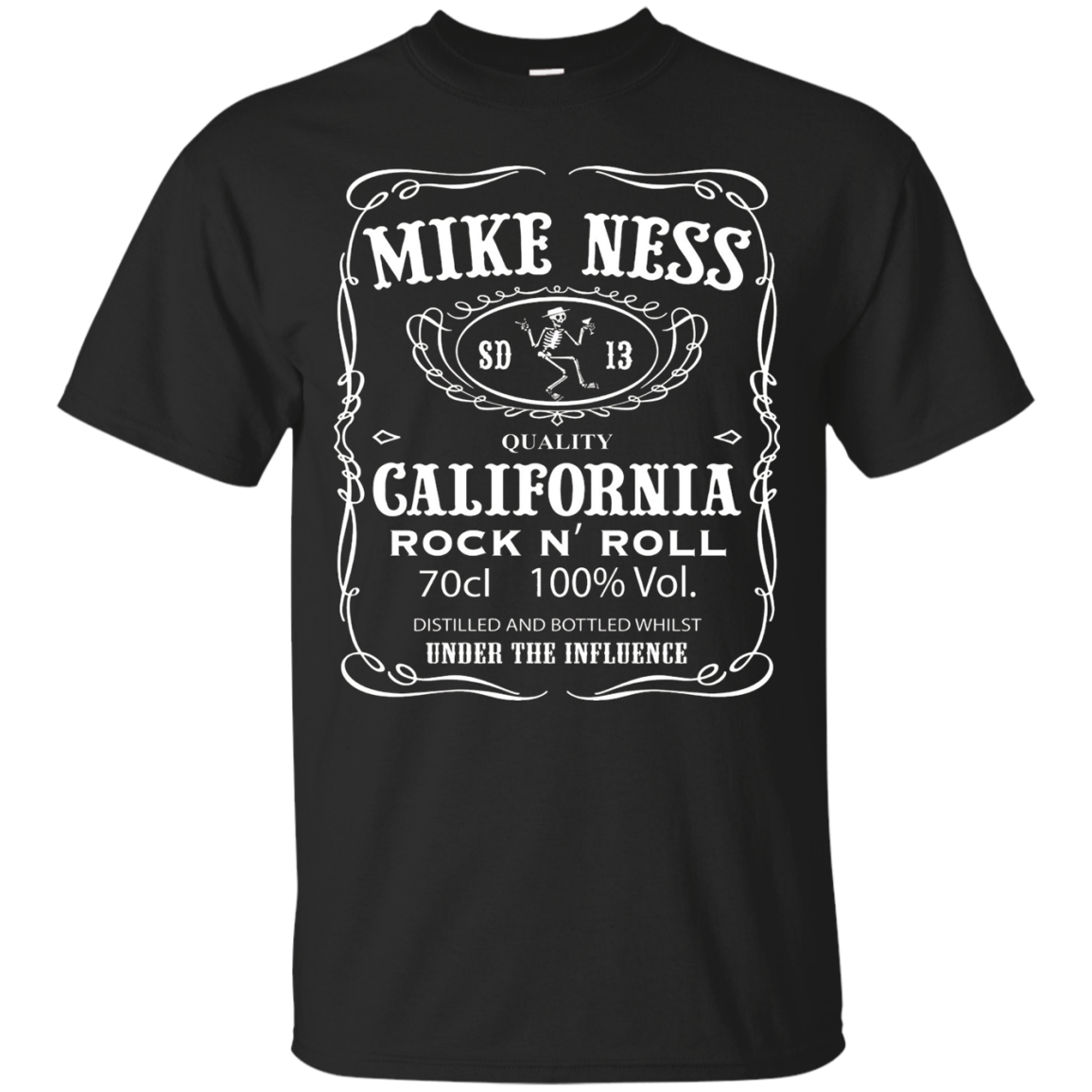 Mike Ness SD 13. Quality Galifornia Rock N' Roll T-shirt